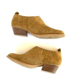 Nine West Suede Leather Ankle Bootie